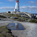 Peggys Cove Nova Scotia Canada by Heather Coen