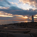 Peggy's Cove Sunset by Andre Distel