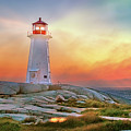 Peggy's Cove Sunset by Tracy Munson