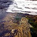 Peggy's Cove Surf Splash by Steve Somerville
