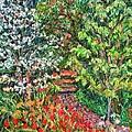 Peggys Garden by Kendall Kessler