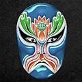 Peking Opera Face-paint Masks - Zhongli Chun by Serge Averbukh