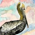 Pelican 2  by Derek Mccrea