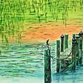 Pelican Perch by Terri Mills