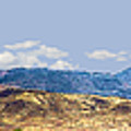 Peloncillo Mountains Panorama by Sharon Broucek