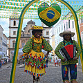 Pelourinho - Historic Center Of Salvador Bahia by Ralf Broskvar
