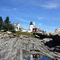 Pemaquid Light by Becca Brann
