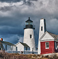 Pemaquid Point Lighthouse 4821 by Guy Whiteley