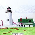 Pemaquid Point Lighthouse by Frederic Kohli