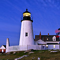 Pemaquid Point Lighthouse Maine by John Greim