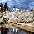 Pemaquid Reflection by Olivier Le Queinec