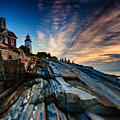 Pemaquid Sunrise by Rick Berk