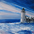 Pemaquid Winter Light by Lynne Vokatis