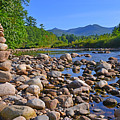 Pemigewasset River, North Woodstock Nh by Ken Stampfer
