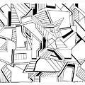 Pen And Ink 5 by Steven Natanson