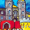Pena Palace In Sintra Portugal  by Dora Hathazi Mendes