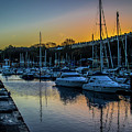 Penarth Harbour In Wales by Stephen Jenkins