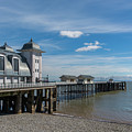 Penarth Pier Glorious Day by Steve Purnell