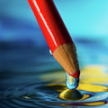 Pencil Drip by Alissa Beth Photography