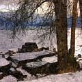 Pend D'oreille Lake 3 by Lee Santa