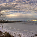 Pend D'oreille Lake Panorama by Lee Santa