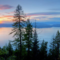 Pend Oreille Sunset by Idaho Scenic Images Linda Lantzy