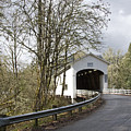 Pengra Covered Bridge by John Higby