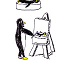 Penguins Don't Paint Pictures by Rob Keay