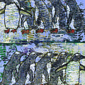 Penguins On Parade by Richard W Dillon