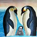 Penguins  by Sigita Smetonaite