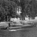 Peniche On River Seine by Cheryl Miller