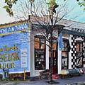 Penland Bros Store - Ellijay Georgia - Historical Building by Jan Dappen