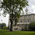 Penn State Old Main From Side  by John McGraw