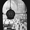 Penn Station Clock by Van D Bucher and Photo Researchers