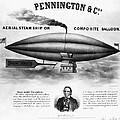 Penningtons Airship, 1850 by Granger