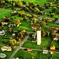 Pennsylvania Landscape From Aloft In An Ultralight by Kay Brewer