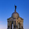 Pennsylvania Monument At Gettysburg by John Greim