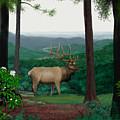 Pennsylvanian Elk by Larry Ryan