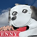 Penny Dog Food Sign 3 by Timothy Smith