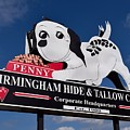 Penny Dog Food Sign 1 by Timothy Smith