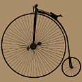 Penny Farthing Sepia by Gill Billington