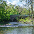 Pennypack Creek Bridge Built 1697 by Bill Cannon