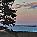 Penobscot Bay At Dusk by Modern Art