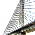 Penobscot Narrows Bridge And Observatory by Anita Pollak