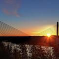 Penobscot Narrows Sunrise by John Meader