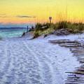 Pensacola Beach Orange by JC Findley