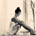 Pensive Ballerina by Chris Armytage