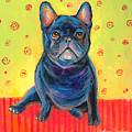 Pensive French Bulldog Painting Prints by Svetlana Novikova