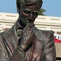 Pensive Lincoln by David Bearden
