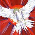 Pentecost Dove by Lynne Beard